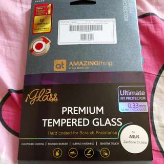 Premium Tempered Glass For Asus Zenfone 3 Ultra