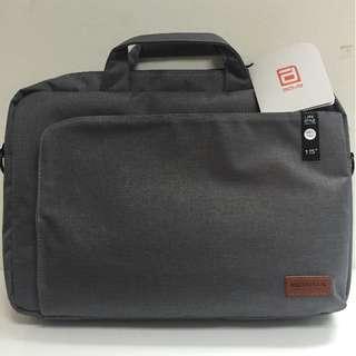 """15.6"""" Grey Laptop Briefcase"""
