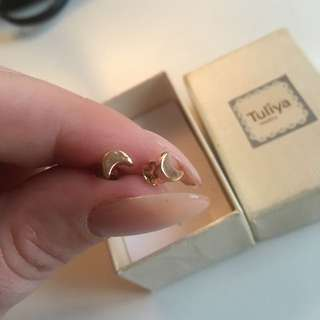 Little Rose Gold Plated Studs