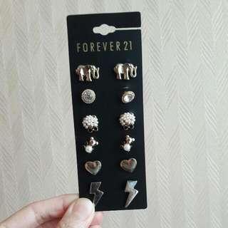 Forever 21 Anting 6pcs