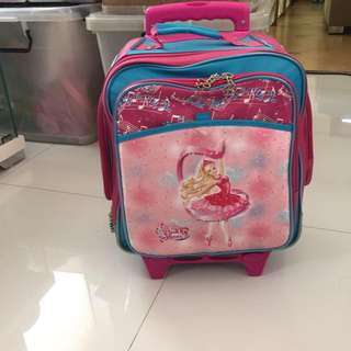 School Bag Trolley And Convertible Back Pack