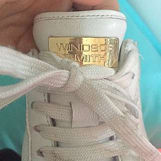 Windsor Smith White Shoes