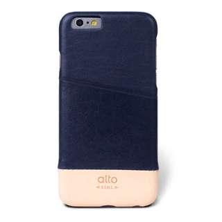 alto iPhone 6/6S 真皮手機殼背蓋,Metro - 海軍藍