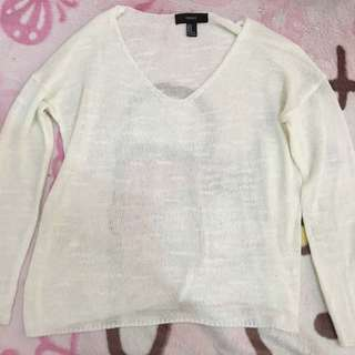 F21 Knitted Thin Sweater