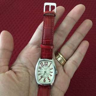 Casio Ladies Watch With Leather Band
