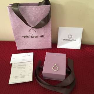 Michael Hill Sterling Silver With Cubic Zirconia