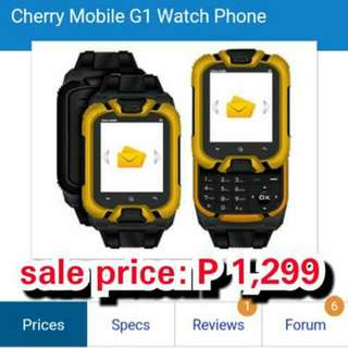 cherry mobile g1 phone watch