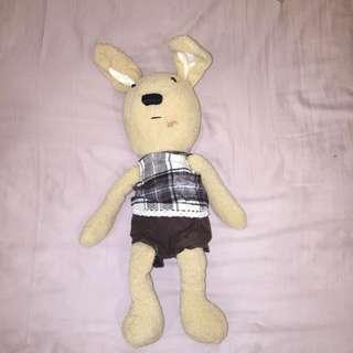 "24"" Rabbit Plush Toy Standing"