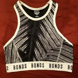 Bonds Crop/sports bra