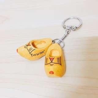 荷蘭木箕鑰匙圈