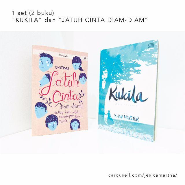 """1 Set 2 Buku """"Kukila"""" dan """"Jatuh Cinta Diam-Diam"""""""