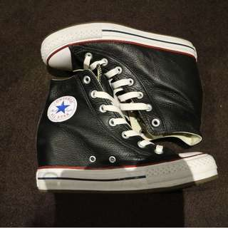 CONVERSE Wedges Leather Shoes