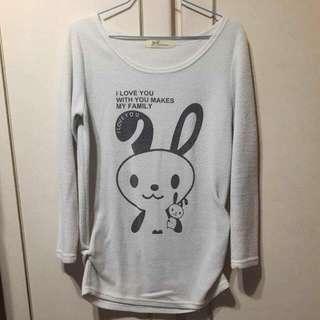 🚚 ✅二手 長版T-shirt