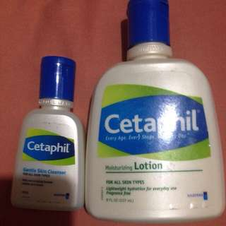 Cethapil Moisturizing Lotion And  Cleanser