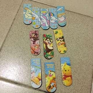 Cinamoroll Magnetic Bookmarks