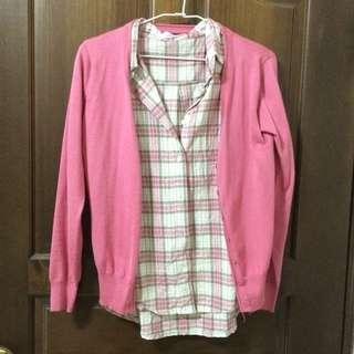 襯衫+小外套