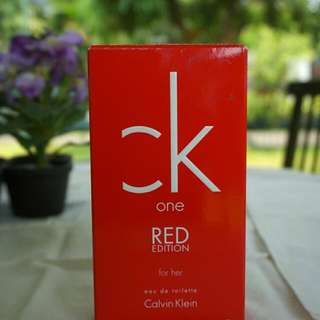 Ck One Red Edition For Her