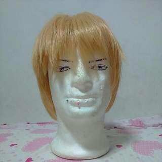 Golden Wig