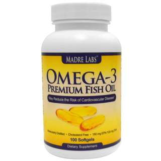 Madre Labs Fish Oil  Please pm me the quantity.  Tags: Omega 3 , EPA , DHA , Dietary Supplement  Expiry: 12/2017