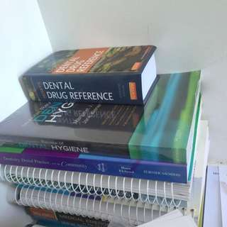 Full Set Of Dental Hygiene Textbooks