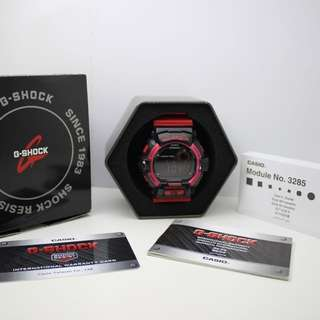 CASIO G-SHOCK 黑紅 手錶