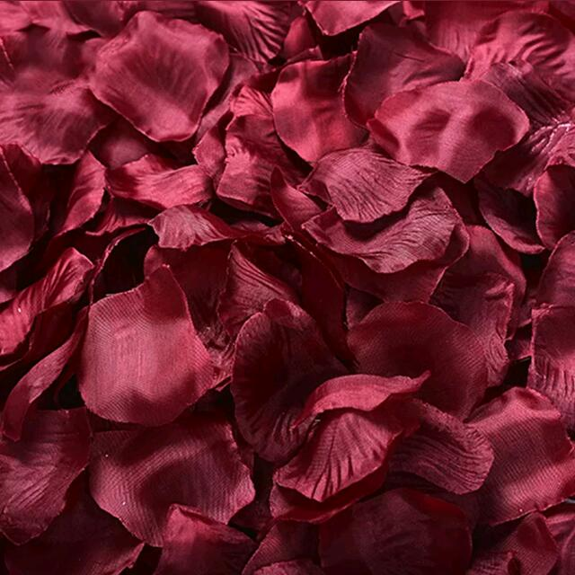300 Pieces Rose Petal Decoration