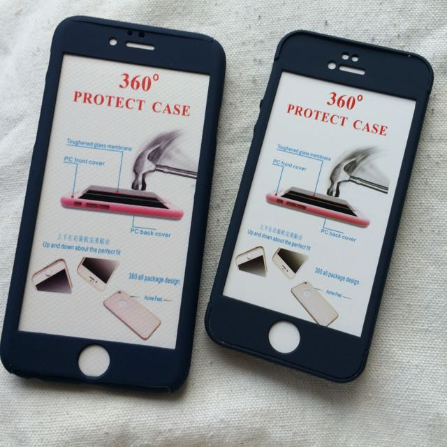 360 Protect Case - Navy Blue