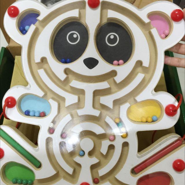 貓熊運筆迷宮