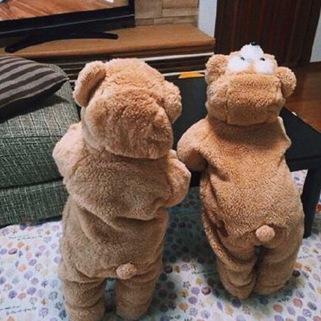 💥現貨💥 達菲 熊熊 造型 連身衣