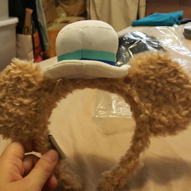 可愛達菲立體耳朵髮圈 Duffy