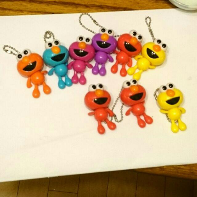 正版 Elmo 芝麻街 活動吊飾