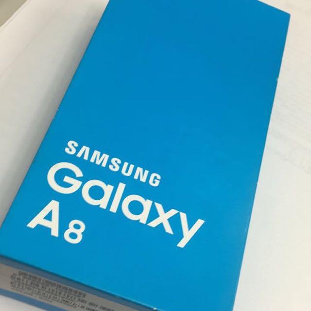 三星 Samsung Galaxy A8金 全新僅拆封