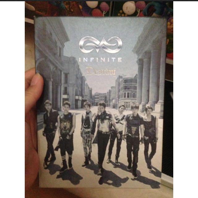 Album + CD + Photo Infinite