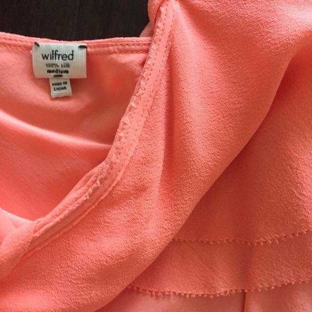 Aritzia Babaton Silk Dress