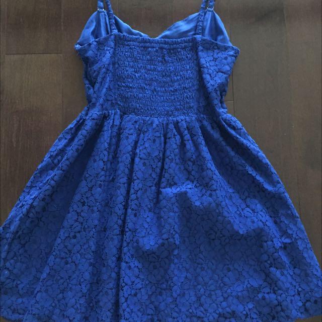 Aritzia Talula Blue Dress