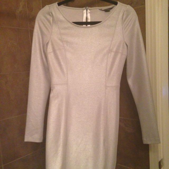 Armani Silver Dress