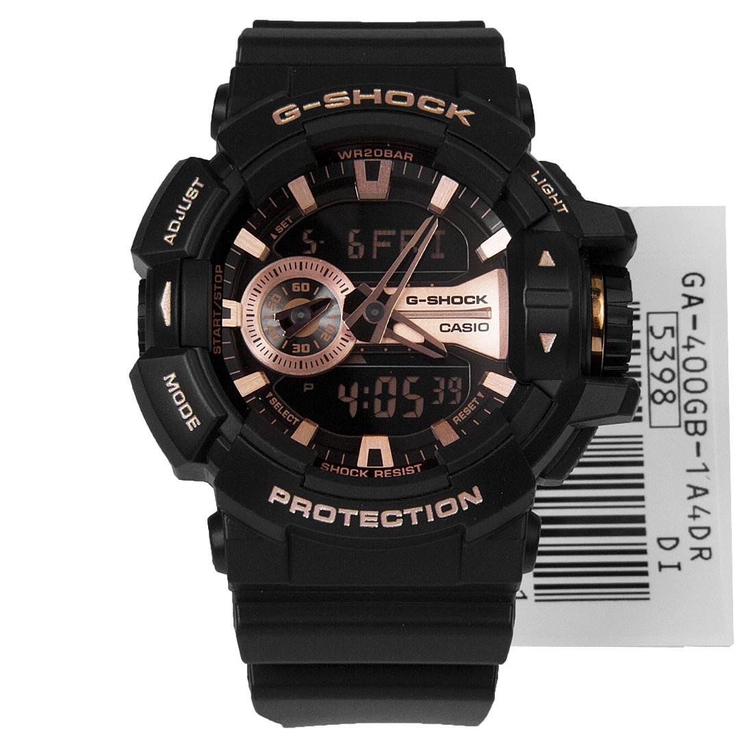 b6f36f3fd9c Authentic NEW Casio G-Shock GA-400GB-1A4 GA-400GB Black Gold Sports ...
