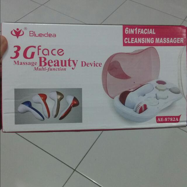 Beauty Device 6in1 Facial Cleansing Massager