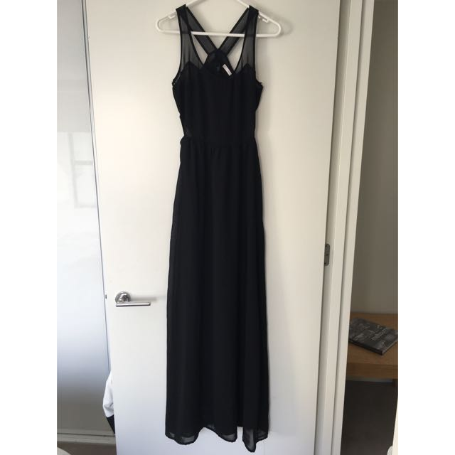 Black, Full Length Zara Dress
