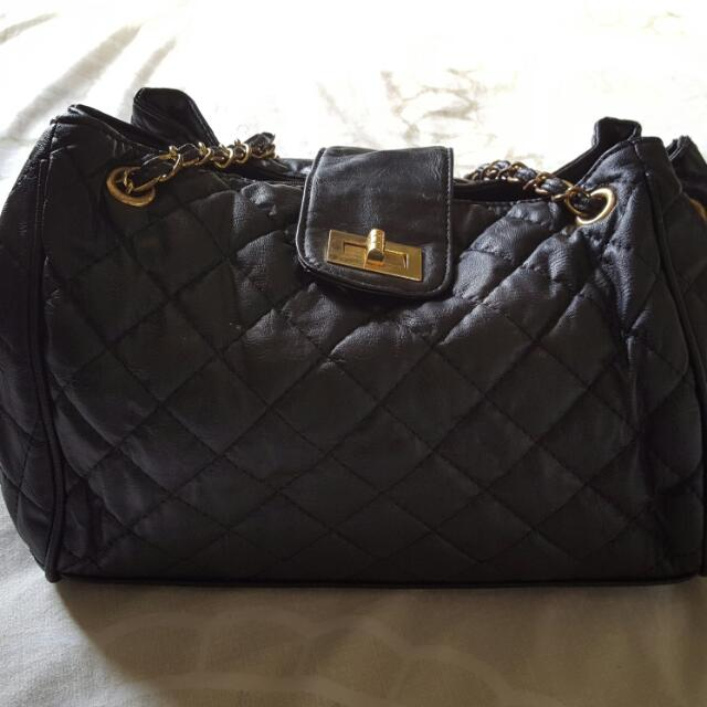 Black Leathet Bag