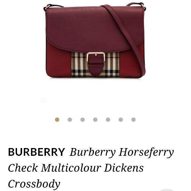Burberry Horseferry Check Dickens Crossbody