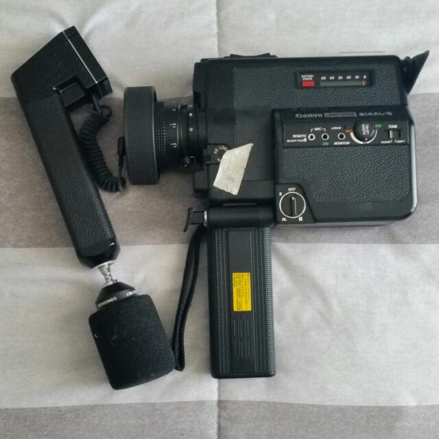 Canon Canosound 514XL-S Vintage Super8 Camera