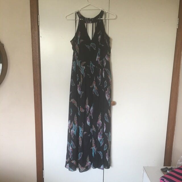 City Chic: Plus Size Black Maxi Dress