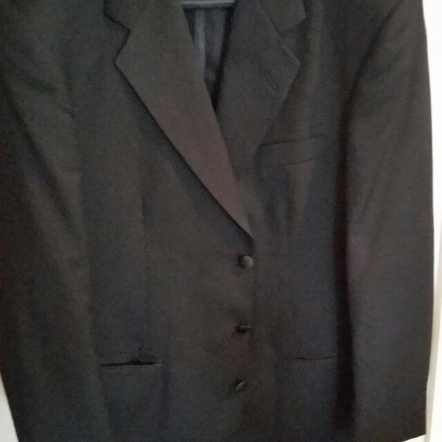 Classic Tuxedo Suit -worn 2x