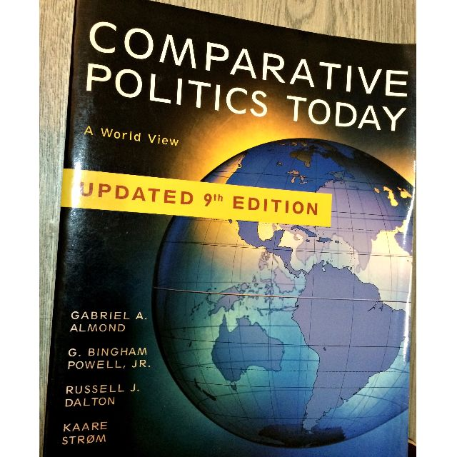 Comparative Politics Today : A World View 9780205585960 含運700