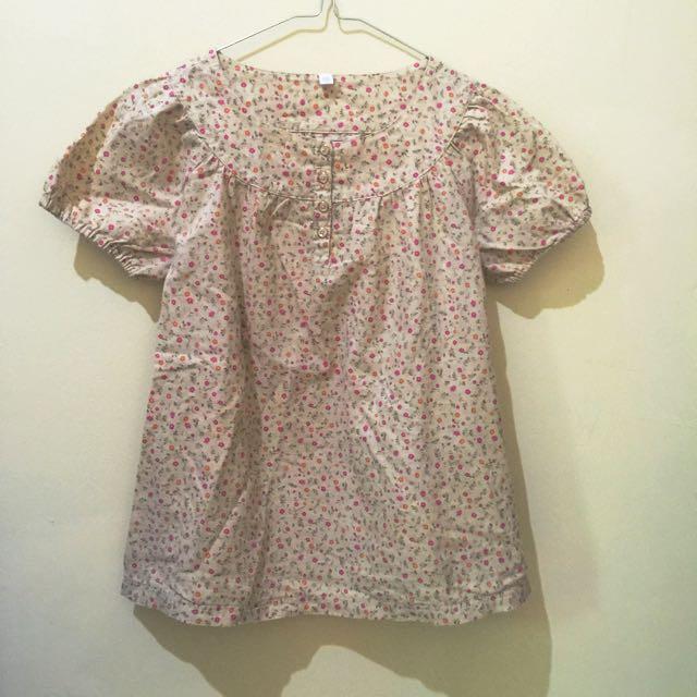 Cotton Floral shirt