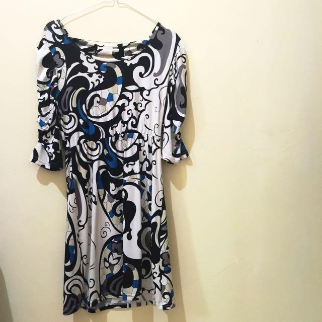 Dress Motif spandex