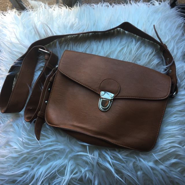 Faux- Leather Bag
