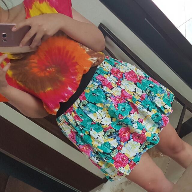 Flowery Skirt / Rok