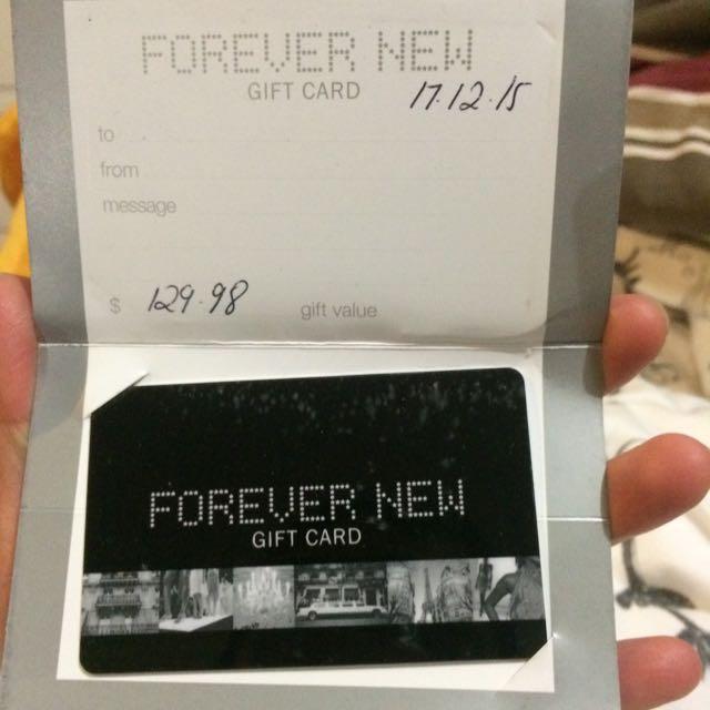 Forever New $129.98 Gift Card